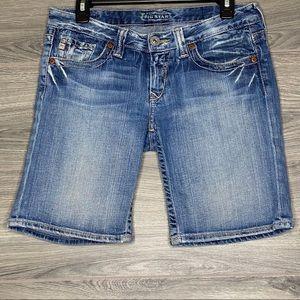 BIG STAR Sweet Jean Shorts Distressed Women's 27